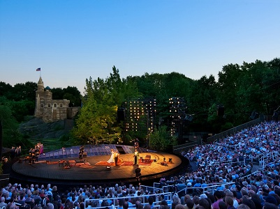 Shakespeare in the Park – שייקספיר חינם בסנטרל פארק