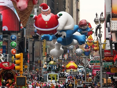 מצעד מייסיס Macy's Thanksgiving Day Parade