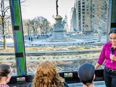 The Tour סיור מנהטן באוטובוס חדשני
