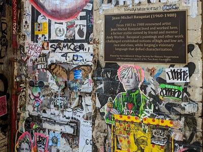סיור אמנות רחוב בסוהו בעברית