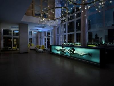 Gansevoort Park Rooftop and Lounge – לאונג' ורופטופ בר