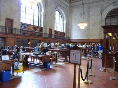 הספריה הציבורית בניו יורק