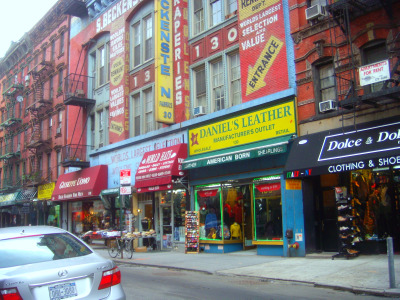 Shopping Lower East Side