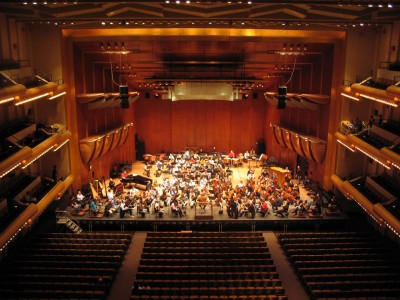 Avery Fisher Hall- Lincoln Center