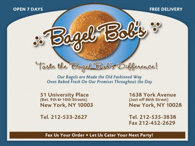 Bagel Bobs on York