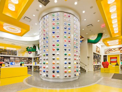 The Lego Store Rockefeller Center