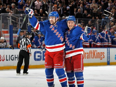 NY Rangers NHL הוקי בניו יורק