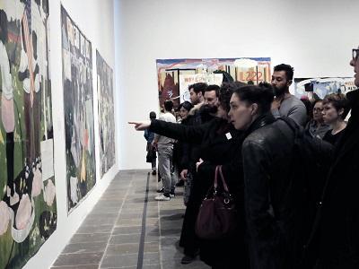 סיור גלריות בצ'לסי בעברית