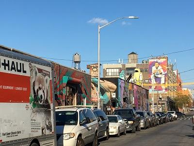 סיור גרפיטי בברוקלין בעברית