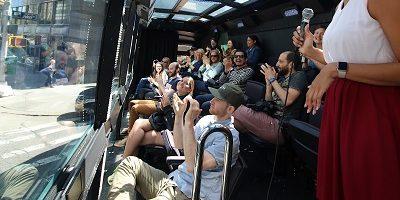 סיור באוטובוס מציאות מדומה